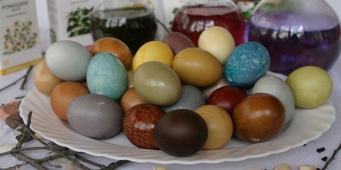 12 необычных способов покрасить яйца