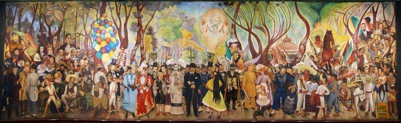 Картины мексиканского художника Диего Риверы