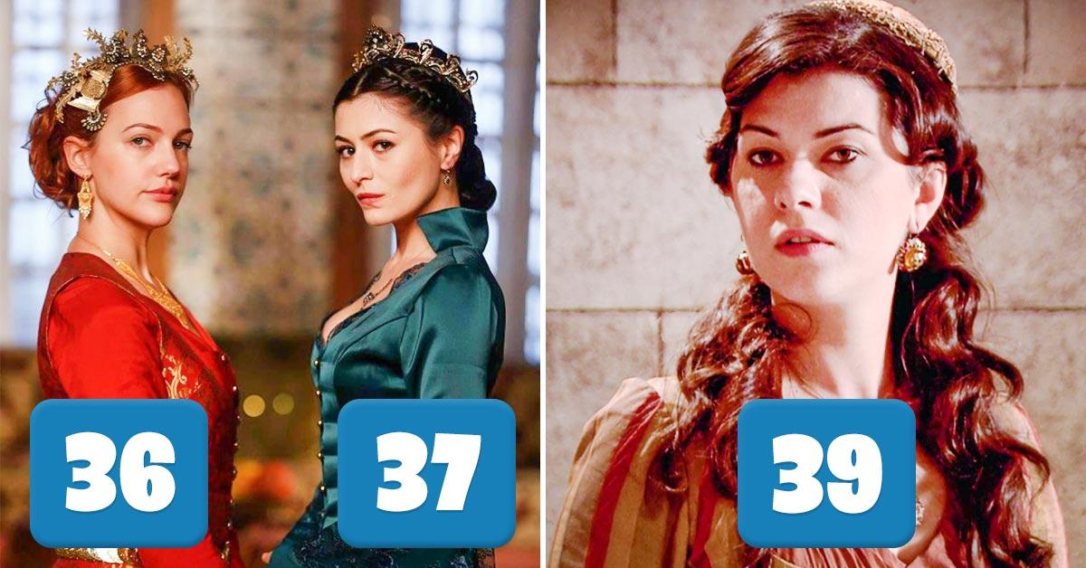 актрисы из «великолепного века»