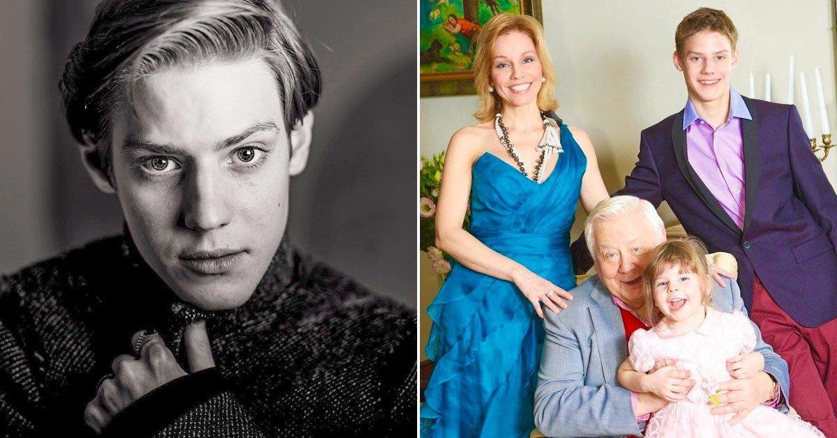 Павел Табаков и внебрачная дочь