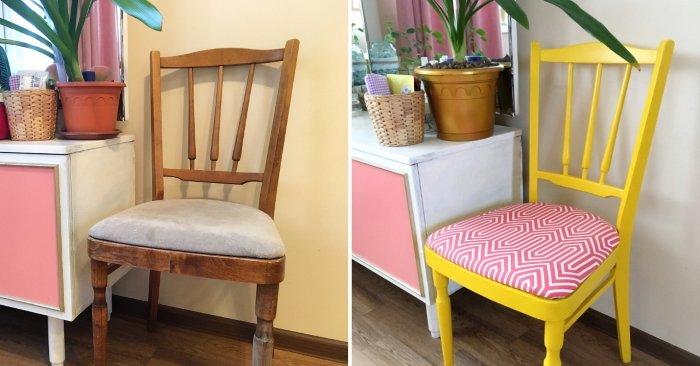 Варианты стильной переделки старой мебели