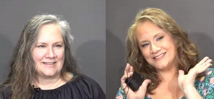78-летняя мама Кристофера Хопкинса показывает, как с помощью макияжа выглядеть моложе на 20 лет
