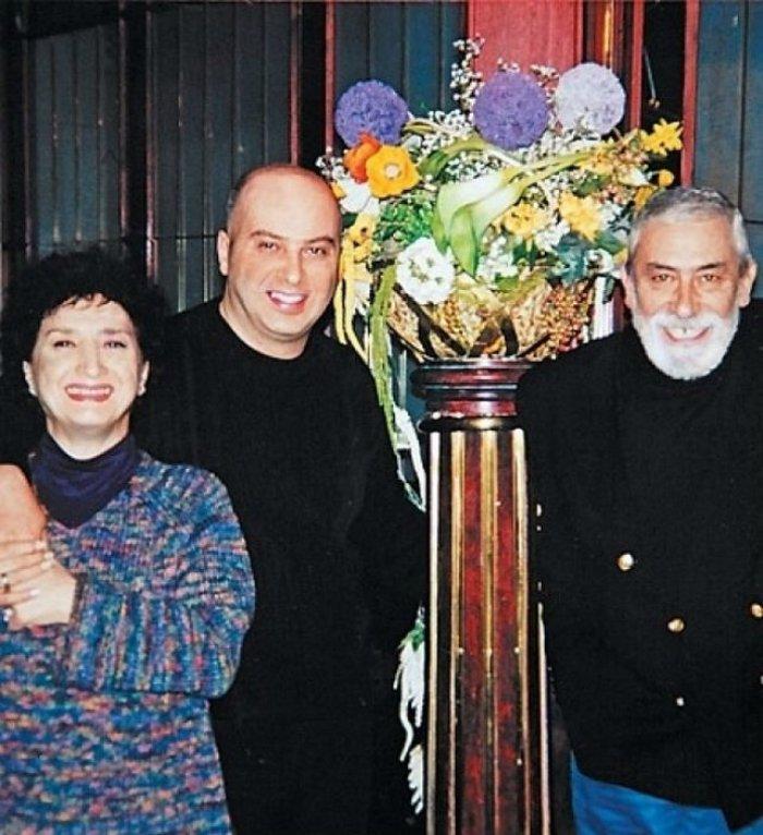 Вахтанг и Ирина Кикабидзе