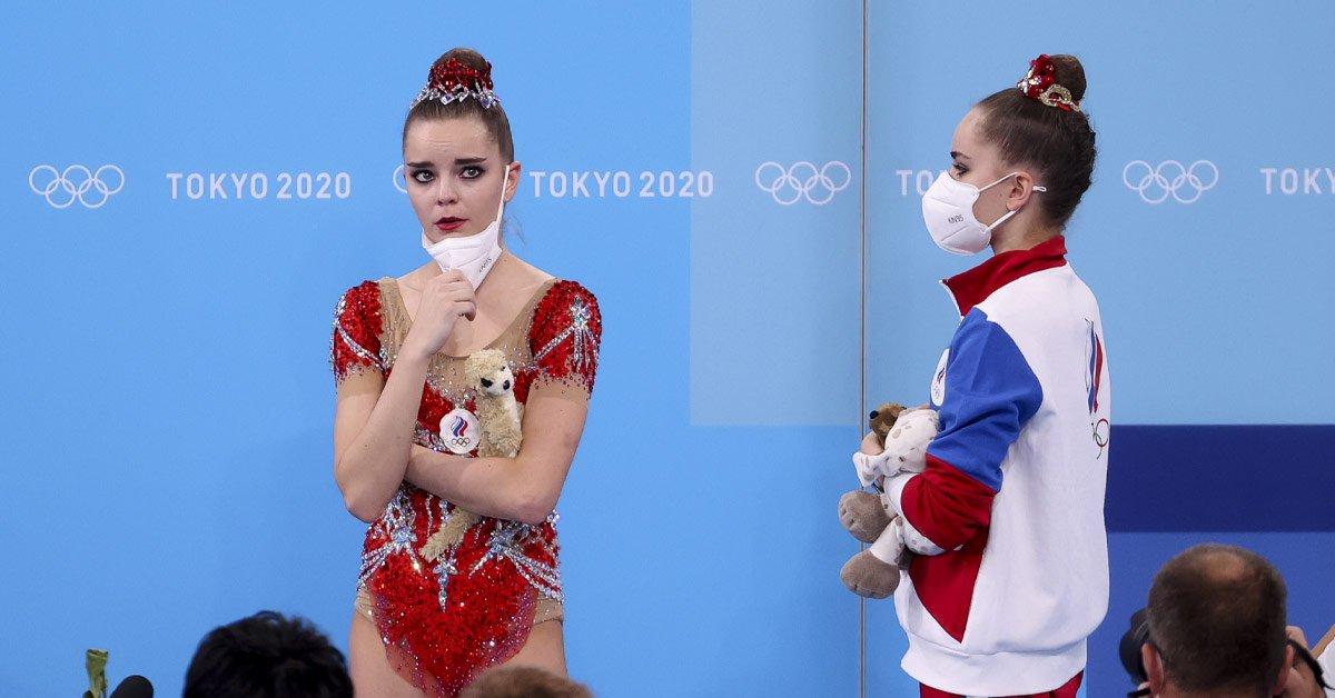 выступление российских гимнасток