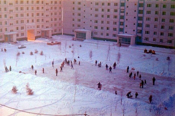 Зимние атрибуты родом из советского детства